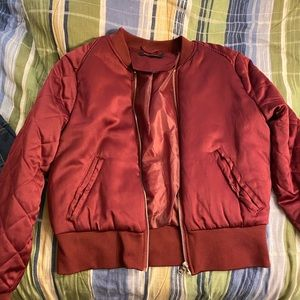 New Look Red Bomber jacket